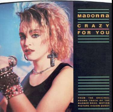 Madonna ~ Crazy For You/No More Words